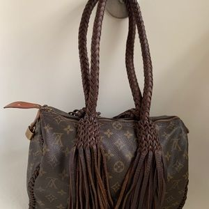 Louis Vuitton Bags - Authentic Vintage Upcycled Louis Vuitton Handbag